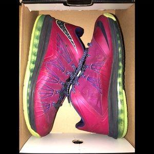 Nike Air Max LeBron X Low 579765 601 Rasberry 10